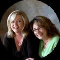 Founders Becky Kloetzel-Roberts and Heidemarie Stemler